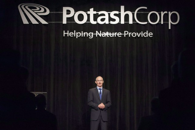 Le chef de la direction de PotashCorp, Jochen... (PHOTO ARCHIVES LA PRESSE CANADIENNE)