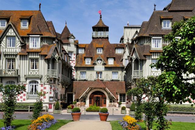 L'hôtel Normandy de Deauville...