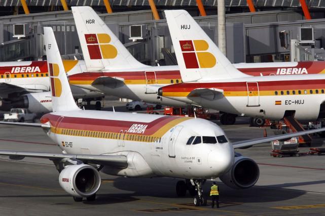 Des passagers israéliens qui volaient à bord d'un avion d'Iberia ont accusé le... (PHOTO ARCHIVES REUTERS)