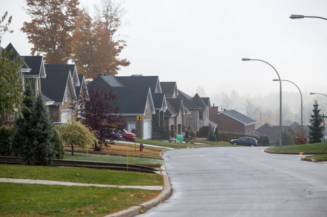 La valeur d'une maison unifamiliale moyenne passe à... (Olivier Croteau)