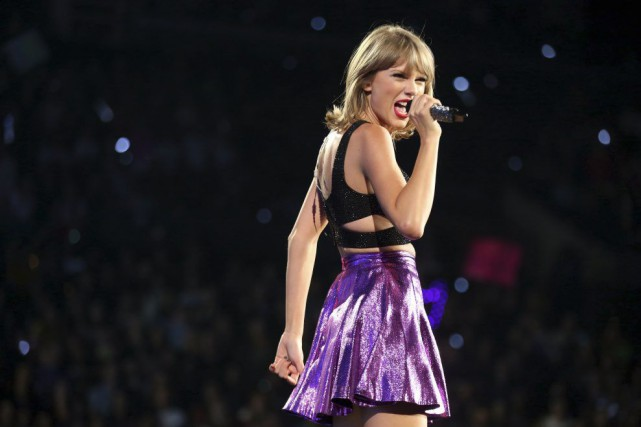 Taylor Swift à Los Angeles, en juillet dernier... (Photo Matt Sayles, archives AP)