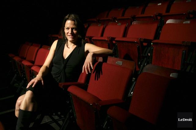 L'actuelle directrice générale du Théâtre du Trillium, Anne-Marie... (Patrick Woodbury, Archives LeDroit)