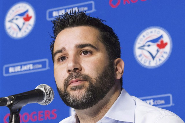Alex Anthopoulos était le DG des Blue Jays depuis... (Archives La Presse Canadienne)