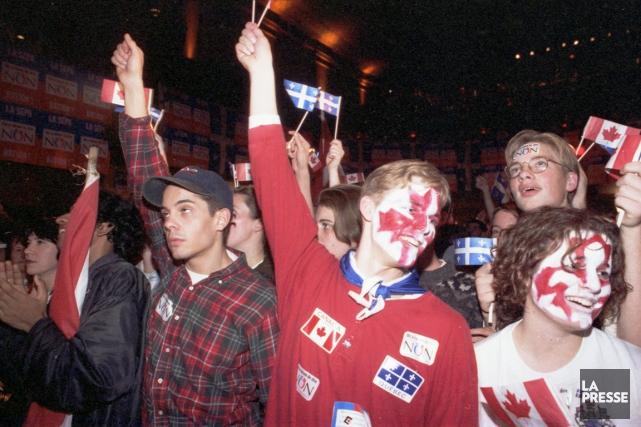 On a tous en tête ce soir d'octobre 1995 alors que les résultats du référendum... (Archives, La Presse)