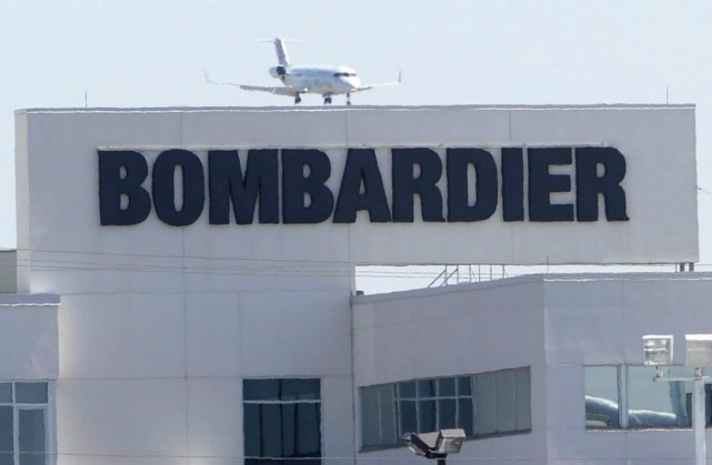 Québec a accordé 1,3 G$ à Bombardier.... (Archives, La Presse Canadienne)
