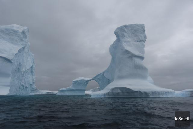 Le trou dans la couche d'ozone au-dessus de... (Archives Le Soleil)