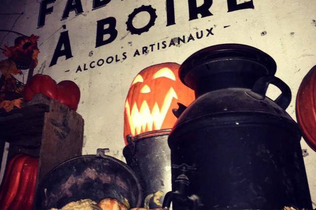 La Fabrique à Boire, c'est un peu le... (Image tirée de la page Facebook de la Fabrique à boire de Montréal)