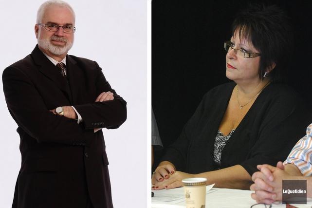 Carl Gagnon et Line Gagnon... (Archives Le Quotidien)