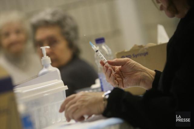 La campagne de vaccination commence le 1er novembre.... (Archives La Presse)