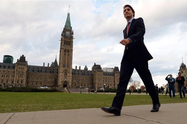 Le chef libéral avait annoncé la semaine dernière... (Sean Kilpatrick, Archives PC)