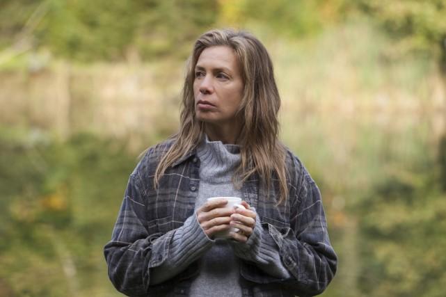 Dans Séquelles, Céline Bonnier incarne l'enquêtrice Kate McDougall,... (Sébastien Raymond)