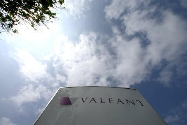 L'action de Valeant a pris lundi 9,84 $,... (PHOTO CHRISTINNE MUSCHI, ARCHIVES REUTERS)