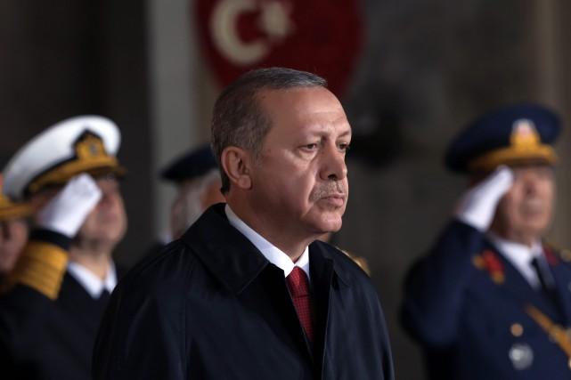 Le président turc Recep Tayyip Erdogan... (Photo Burhan Ozbilici, AP)