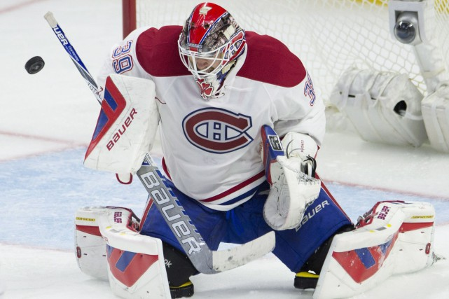 Mike Condon... (PHOTO ADRIAN WYLD, LA PRESSE CANADIENNE)