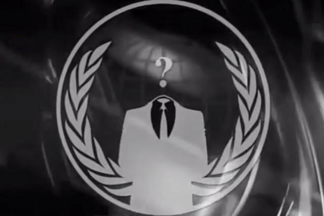 Anonymous avait promis la semaine dernière de s'attaquer... (IMAGE YOUTUBE)
