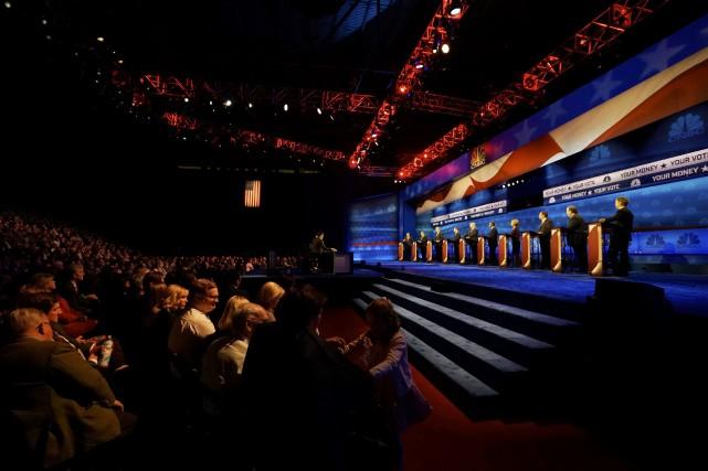Les candidats républicains et le monde conservateur étaient... (PHOTO RICK WILKING, REUTERS)
