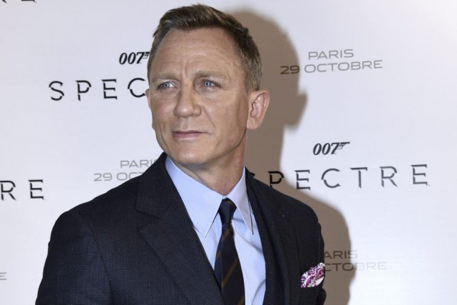 Daniel Craig... (PHOTO archives AFP)