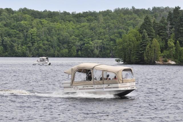 L'arrêt du flottage du bois sur la rivière... (Émilie O'Connor)
