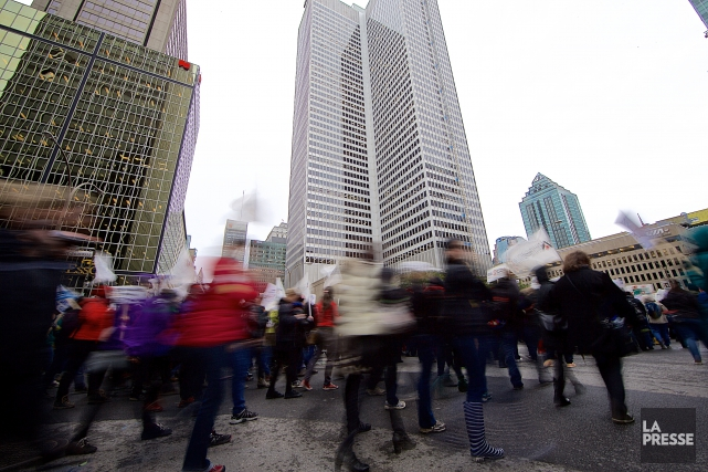 «Si nous joignons le mouvement de grève du... (Archives La Presse)