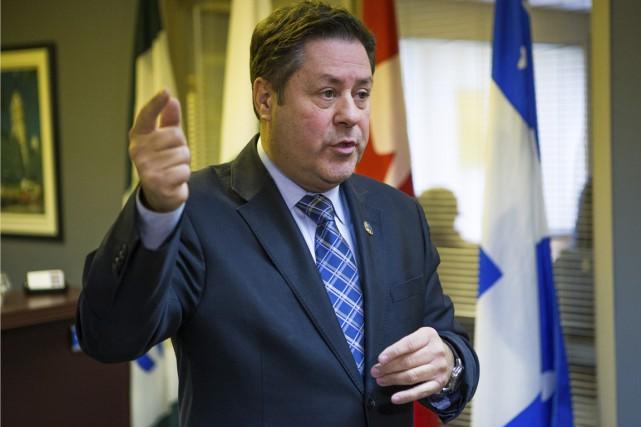 Le député de Champlain, Pierre Michel Auger... (Gabriel Delisle)