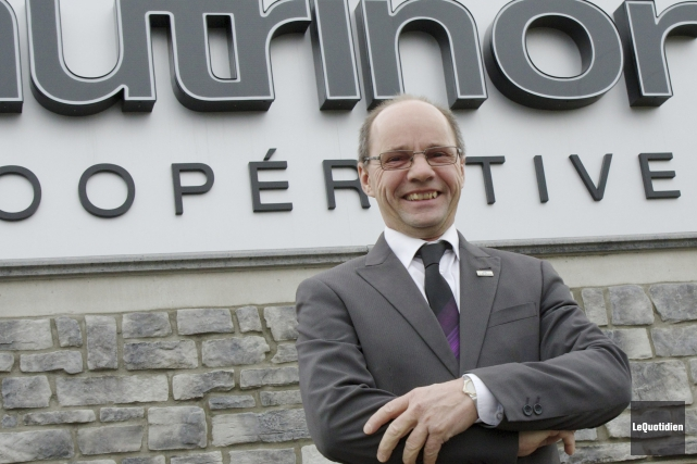 Jean Lavoie, président de Nutrinor.... (Photo Le Quotidien, René Bouchard)