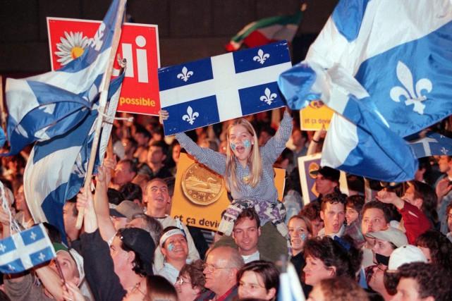 Vingt ans après le dernier référendum, remporté par une marge infime par le... (Archives PC)