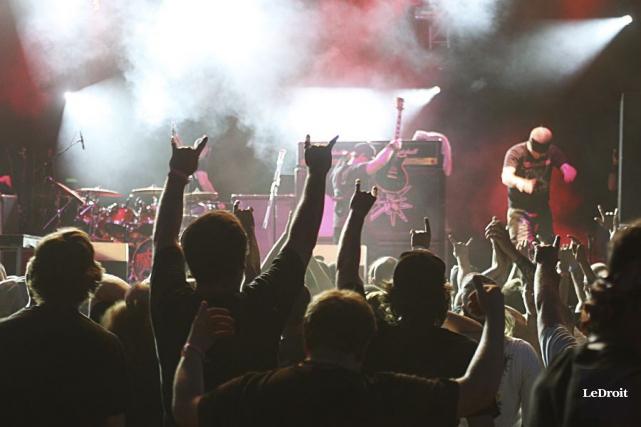 L'organisateur du Rockfest assure qu'il a décalé l'événement... (Etienne Ranger, Archives LeDroit)