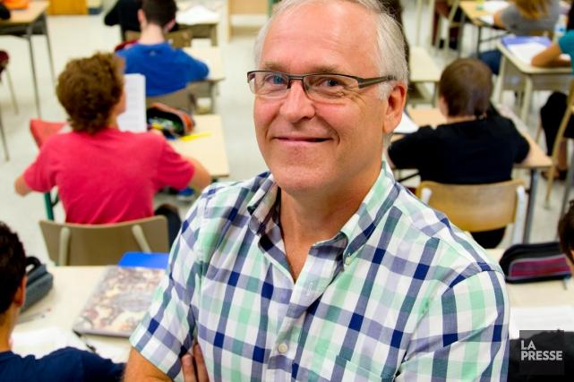 Raymond Bédard, président de la Société des professeurs... (La Presse, Alain Roberge)