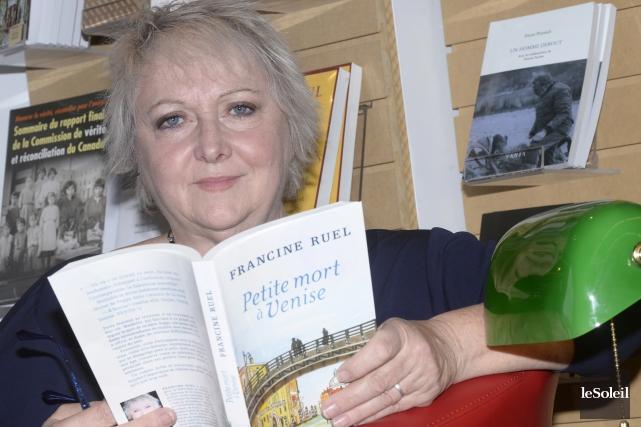 Pour transmettre l'essence de Venise, Francine Ruel s'est... (Le Soleil)