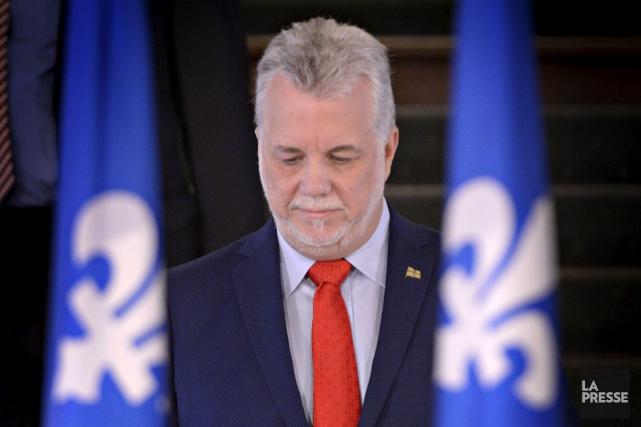 Le premier ministre Couillard estime que l'intervention du... (Bernard Brault, Archives La Presse)