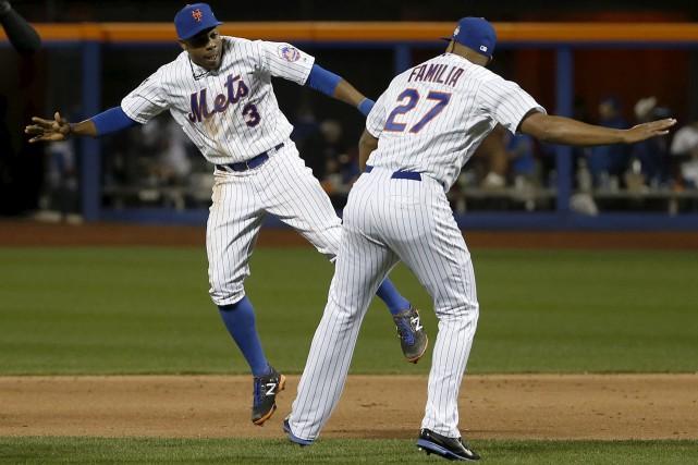 Tenus en échec à Kansas City, les Mets... (Matt Slocum, AP)