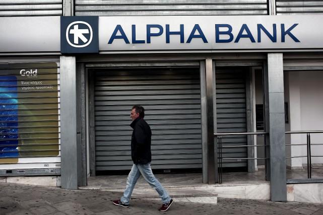 La Banque centrale européenne (BCE) a fait état samedi d'un besoin de capital... (PHOTO ANGELOS TZORTZINIS, AFP)