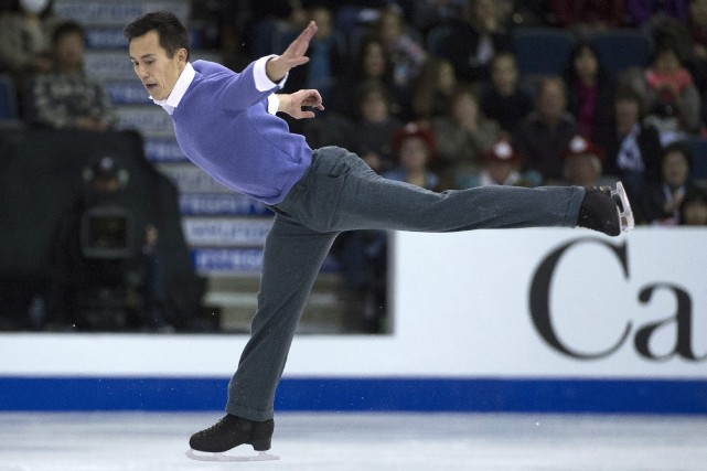 Patrick Chan... (Photo Jonathan Hayward, La Presse Canadienne)