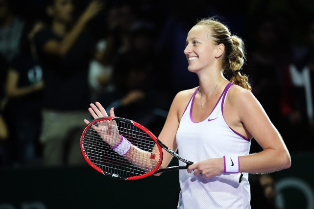 Petra Kvitova... (Photo Joseph Nair, AP)