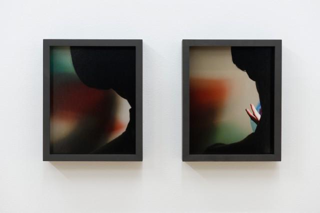 Colors to Black No 3 (à gauche) et... (Photo Paul Litherland, fournie par la galerie Battat Contemporary)