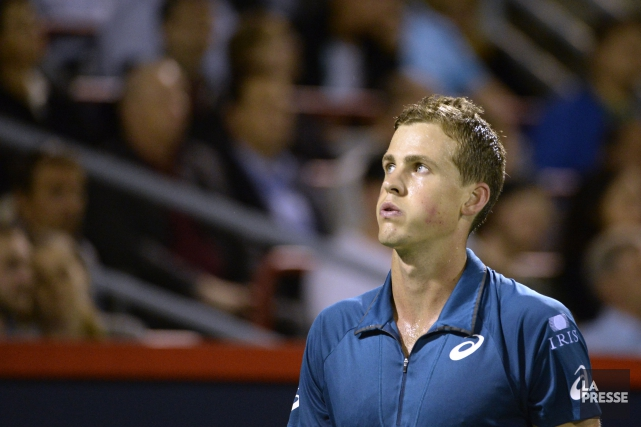 Vasek Pospisil... (PHOTO BERNARD BRAULT, ARCHIVES LA PRESSE)