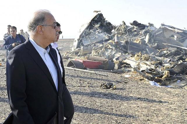 Le premier ministre égyptien Chérif Ismaïl s'est rendu... (Photo Stringer, Reuters)