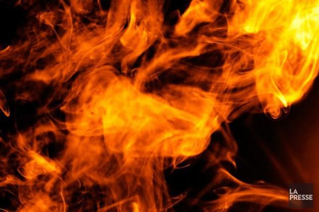 Plus de 40 chevaux de course ont péri dans un incendie survenu lundi soir dans... (Photo d'archives)