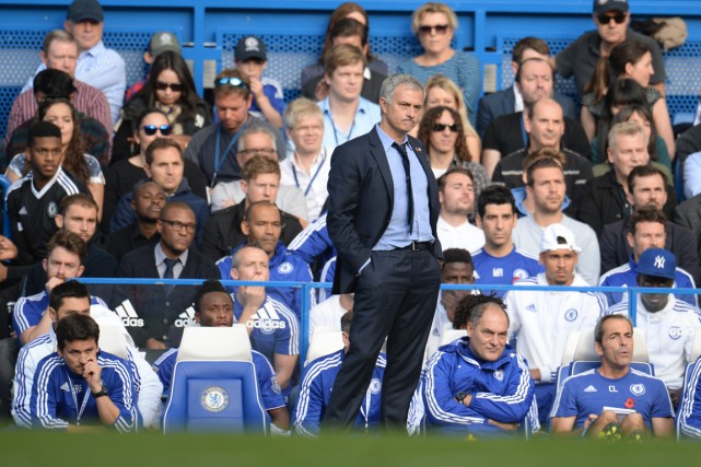 Jose Mourinho... (Photo Philip Brown, Reuters)
