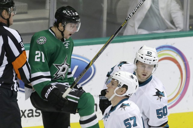 Antoine Roussel... (Photo LM Otero, AP)