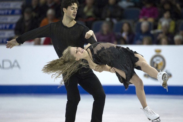 Andrew Poje et Kaitlyn Weaver... (Photo Jonathan Hayward, PC)