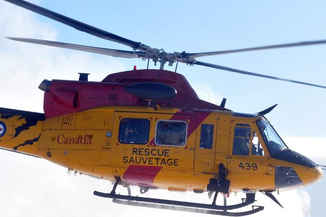 Un homme d'une soixantaine d'années a dû être secouru par l'hélicoptère des... (Archives Le Progrès-Dimanche)
