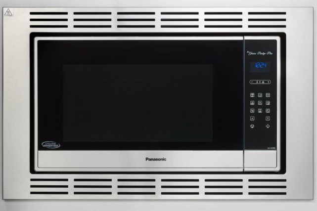 Le micro-ondes Prestige Plus de Panasonic... (PHOTO FOURNIE PAR LE FABRICANT)