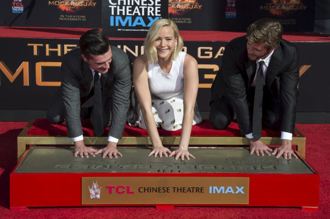Les acteurs de Hunger Games Josh Hutcherson, Jennifer... (Photo Mario Anzuoni, Reuters)