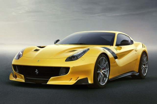 La Ferrari F12tdf... (PHOTO FOURNIE PAR FERRARI)