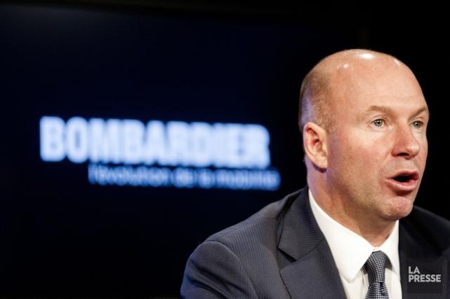 Le chef de la direction de Bombardier, Alain... (PHOTO ARCHIVES LA PRESSE)