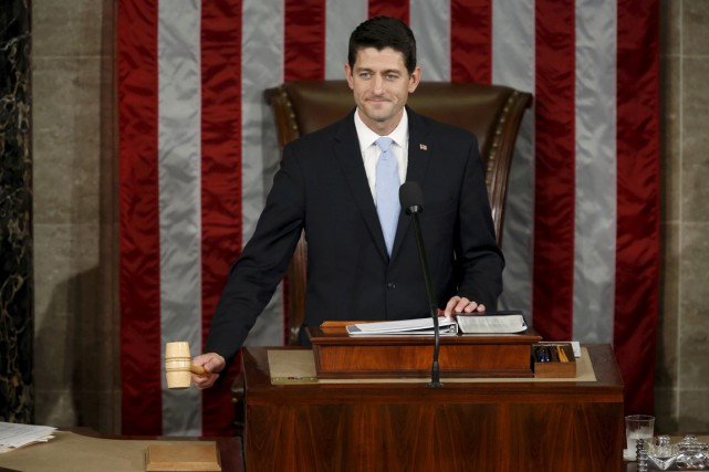 Paul Ryan... (Photo Gary Cameron, archives Reuters)