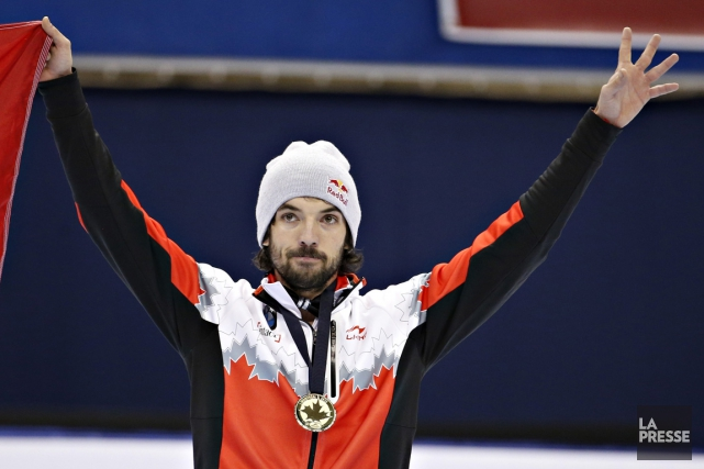 Charles Hamelin... (PHOTO OLIVIER JEAN, archives LA PRESSE)