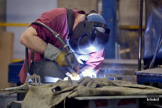 Paber Aluminium de Cap-Saint-Ignace est l'une des entreprises... (Photothèque Le Soleil, Jean-Marie Villeneuve)
