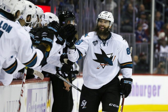 Brent Burns... (Photo David Zalubowski, AP)